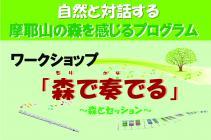 摩耶山の森を感じるプログラム 9月9日 六甲山大学HP